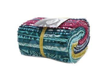 Longitude Batiks Fat eighth by Kate Spain for Moda Fabrics, 27259F8, longitude, fat eight bundle, kate spain fabric, batiks