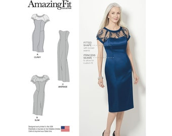 Simplicity Sewing Pattern 8163 Misses' and Plus Amazing Fit Special Occasion Dress