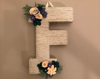 Twine wrapped letter