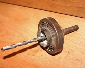 """Vintage/Antique 3 Misener hole saw 3/4"""" -2"""" Patented Syracuse NY"""