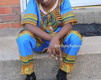 Boy ankara/boy 2 piece//African babyboy clothes/baby set/Newborn clothes/African clothing/Dashiki/baby african wear/african shirt/Kente