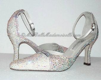 Crystal Shoe's, Bridal Shoes, Crystal Bridal Shoes, Crystal Wedding Shoes, Strass Wedding Shoes, Strass Bridal Shoes