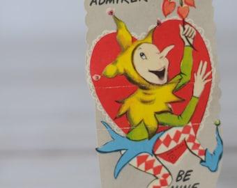1960 Valentines Card