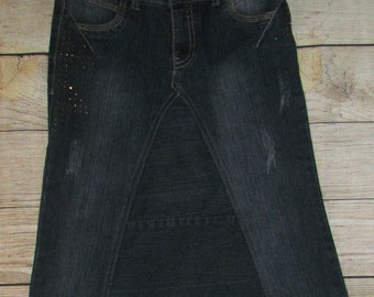 GIRLS JEAN SKIRT- size 12