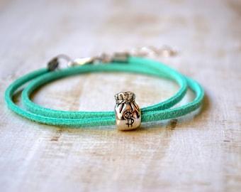 Money Bracelet Pandora charm bracelets leather Bank Teller cash Bracelet gangster Jewelry Banker Gift Finance bracelets american dream gift
