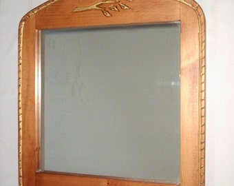 large, bird mirror