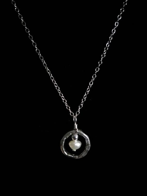 Freshwater Pearl and Sterling Silver Pendant Necklace NSS6151773