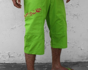 Green bermuda shorts – Spring - S size