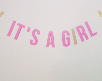 IT'S A GIRL Garland