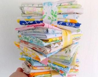 Chutes de drap ancien / 6 onces / ferraille Pack / patchwork tissus
