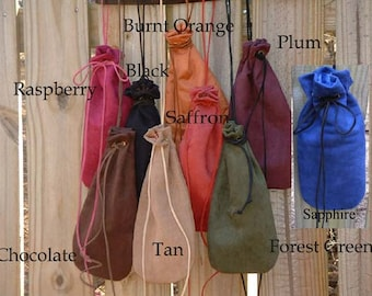 C276   Mens Medieval Renaissance Long Drawstring Bag Pouch