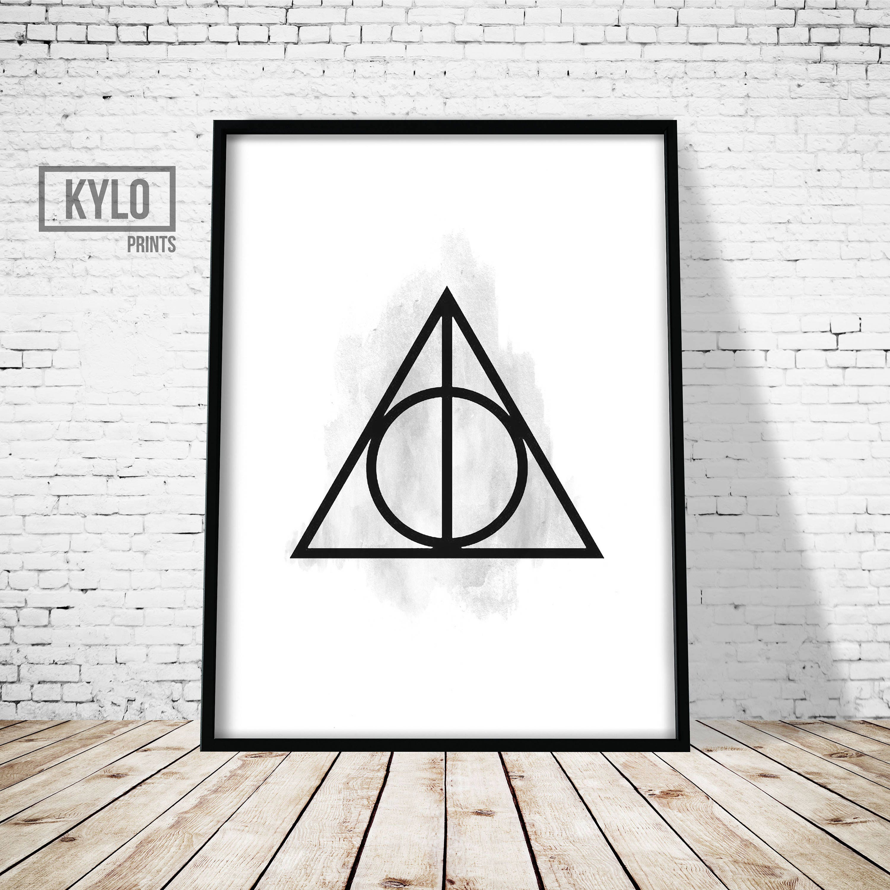 Harry potter print deathly hallows hogwarts instant zoom biocorpaavc