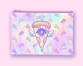 "Cosmetic Bag Pastel ""Celestial Pizza"""