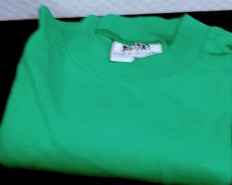 Long sleeve shirt, longsleeve, green-tones, t-shirt, sweater, unisex, women, men, teenager, XS/s/meter/L/measurement Vintage