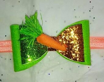 Bunny carrot headband