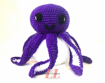Crochet Octopus, Otto the Octopus, Toy, Stuffed Animal, Amigurumi, Present, Crochet, Gift, Crochet Toy, Baby Shower, Boy, Girl, Nursery