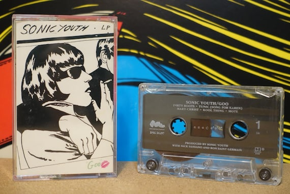 Goo by Sonic Youth Vintage Cassette Tape