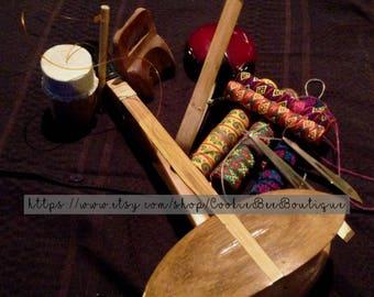 Set of 10 pcs - Ethnic Musical Instruments