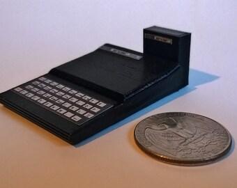 Mini Timex Sinclair TS1000 - 3D Printed!