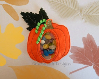 ITH Pumpkin Treat Holder - (4x4 & 5x7) Instant digital download