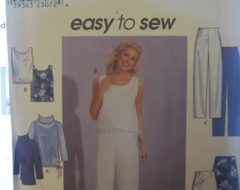 BOSS SIMPLICITY 8763 EASY to sew skirt-pants-shorts-sweater-jacket for women