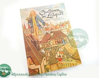 Vintage Hallmark Pop-Up Book: Gulliver in Lilliput