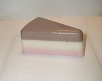 Neapolitan Ice Cream Pie Soap