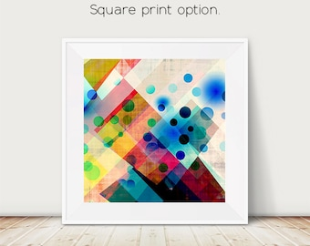 circle art, geometric art, mid century modern, Scandinavian art, Scandinavian design, Danish, Abstract art, family room, modern art, art