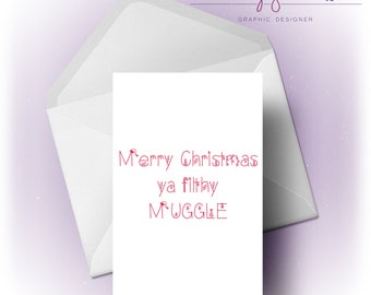 Merry Christmas | Muggle | Card