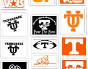 University of Tennessee Knoxville Vols Decal Pack SVG Cut Files Instant Download