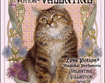 Ivory Cats - Love Potion: Valentine - for Women - Handcrafted Original Fragrance - Love Potion Magickal Perfumerie