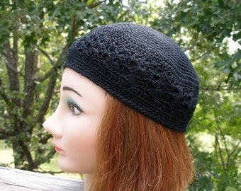 PDF Crochet Pattern for the Kufi Style Beanie Cap