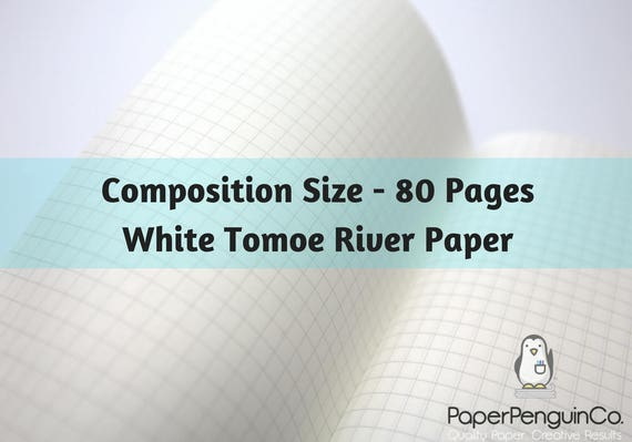 Midori Insert 80 Pages White Tomoe River Paper Travelers Notebook Black Brown Composition Size Only