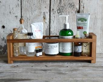 Apothecary Caddy, Peg and Awl, Spice Rack, Bathroom Organization, Kitchen Organization, Bathroom Shelf, Spice Cabinet, Essential Oils