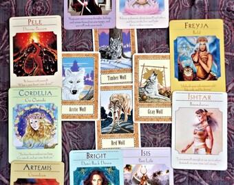 Goddess Tarot Reading 9 Card Guardian Spread