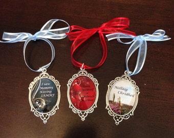 Diana Gabaldon inspired Christmas ornaments