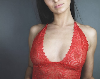 Vanilla Lace Rouge Bralet