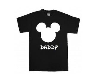 Daddy mickey inspired disney shirt