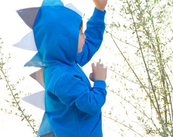 Toddler Dino Hoodie, Dinosaur Sweater, Boy Dinosaur Birthday, Dinosaur Costume, Boy Birthday Gift, Dinosaur Party, Kids Dino Costume