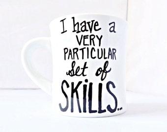 Funny Mug for Work, quote mug, coworker gift, Funny Mug for Husband, dad gift from daughter, funny boss mug, Taken, statement mug, tea cup