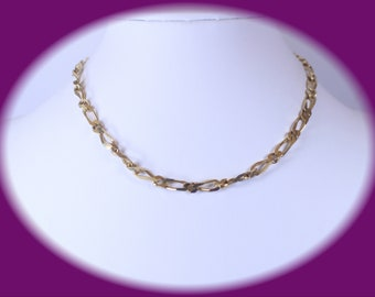 Statement Necklace Retro Necklace Vintage Necklace Statement Jewelry Gold Tone Necklace  Vintage Jewelry Wedding Necklace Costume Jewelry