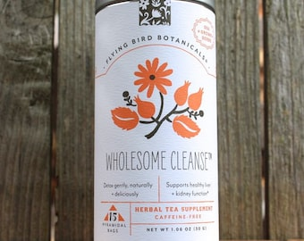0441 Wholesome cleanse 15bag tin