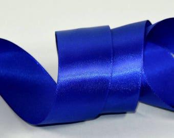 uniface - 32mm wide - Royal blue satin ribbon 5 m