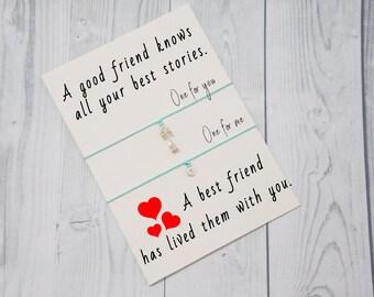 Key bracelet, Padlock bracelet, Bracelet set, Friendship bracelet set, Friendship bracelet for 2, Matching bracelets, Gift for friend
