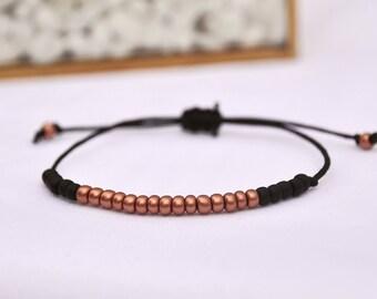 Night Out - beaded bracelet - adjustable fit