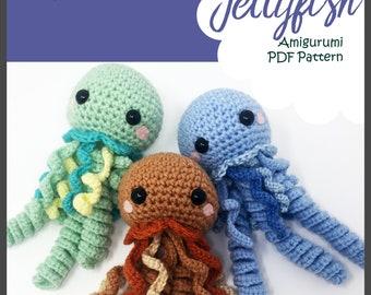 Jellyfish Amigurumi Pattern