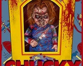 Chucky in Box - A3 Print...