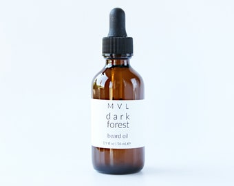 DARK FOREST Beard Oil, conditioning patchouli oil for men, 100% natural and vegan