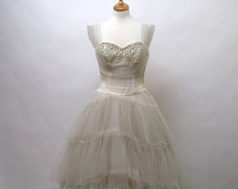 1960's Emma Domb Wedding Gown