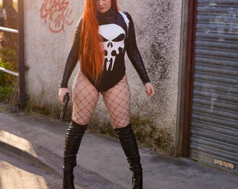 Lady Punisher Cosplay PRINTS
